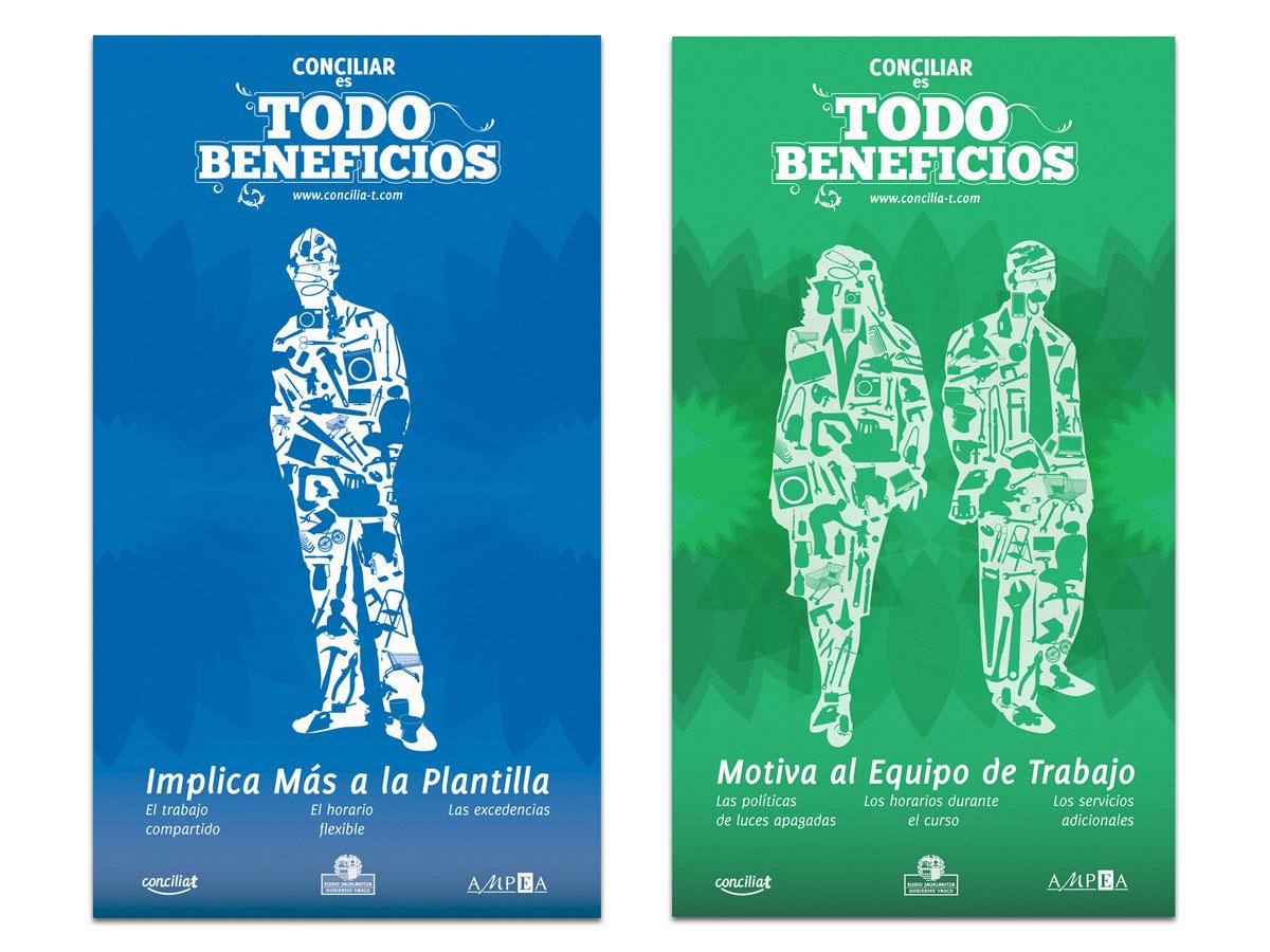 Campaña publicitaria Gobierno Vasco. Humanos Unidos Comunicación. Vitoria-Gasteiz