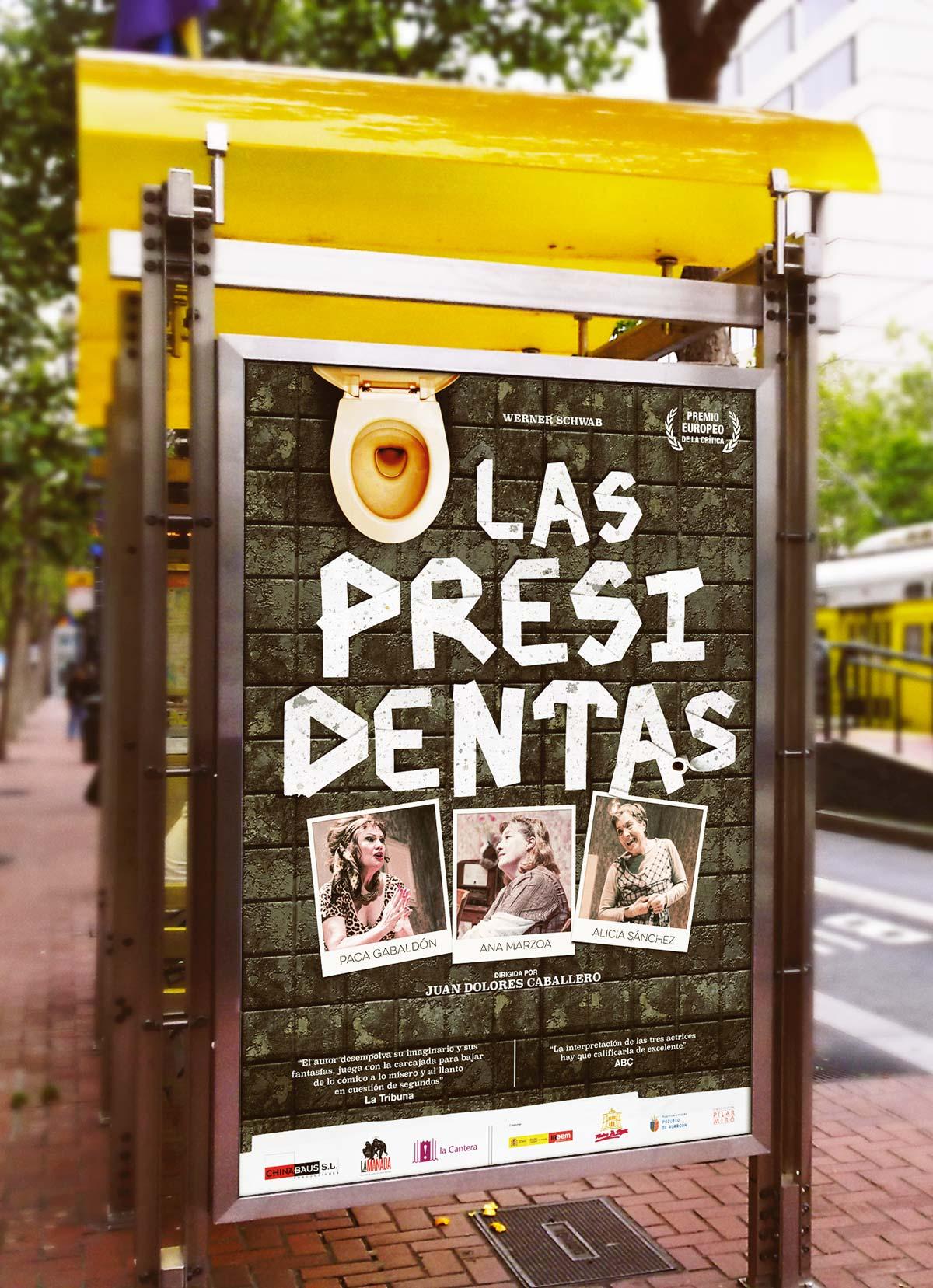 Diseño de carteles La Cantera Producciones. Humanos Unidos comunicación. Vitoria-Gasteiz