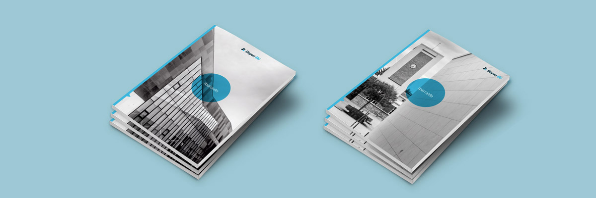 Diseño editorial e identidad corporativa, Disport Eki. Humanos Unidos Comunicación. Vitoria-Gasteiz